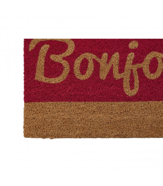 Coco Doormat Stripes Red and Black - 60x40cm