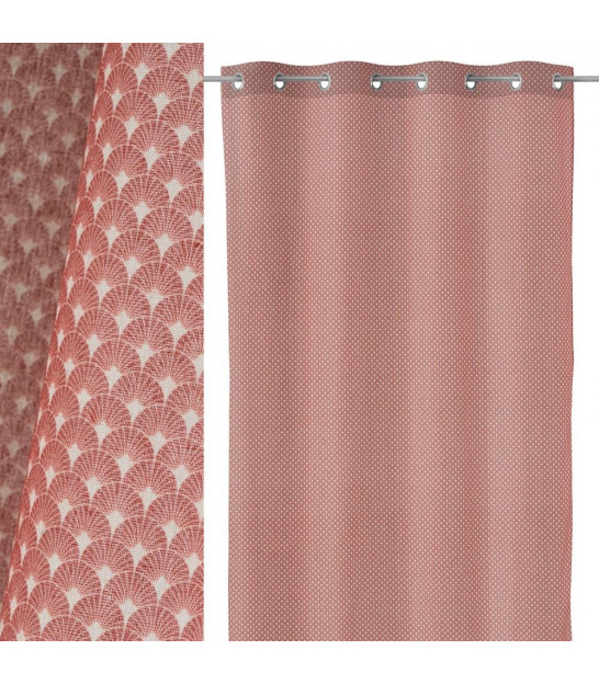 Curtain Polyester Pink - Length 260cm