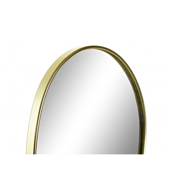 Wall Mirrors White and Silver Polypropylen - set of 8