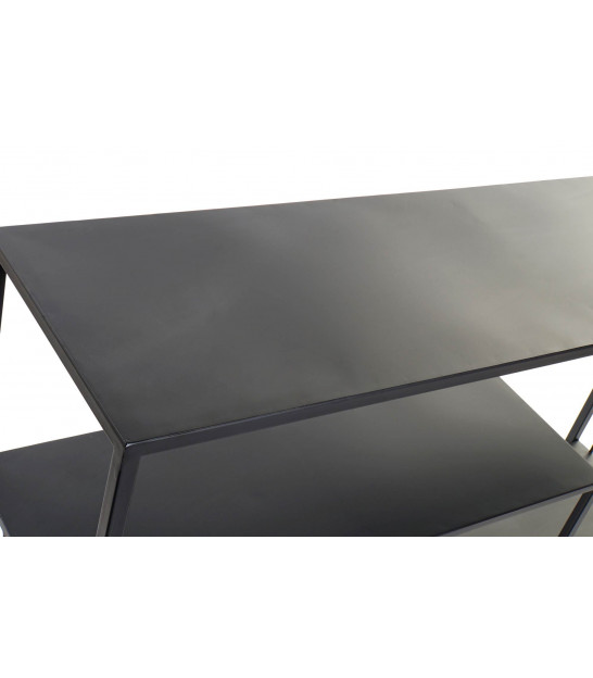 Console Table Black Metal