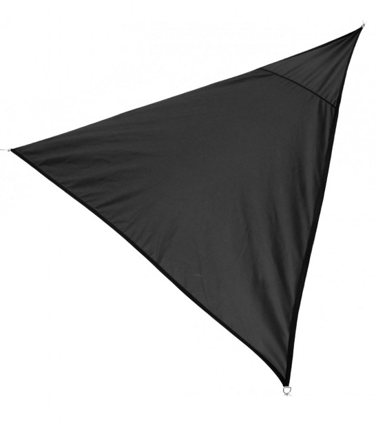 Toile Ombrage Triangulaire Grise - 360x360x360cm