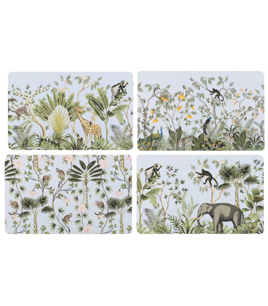 Placemat Tropical - Set of 12