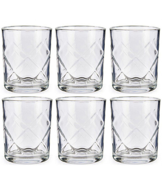 Set of 4 Water Glasses Points