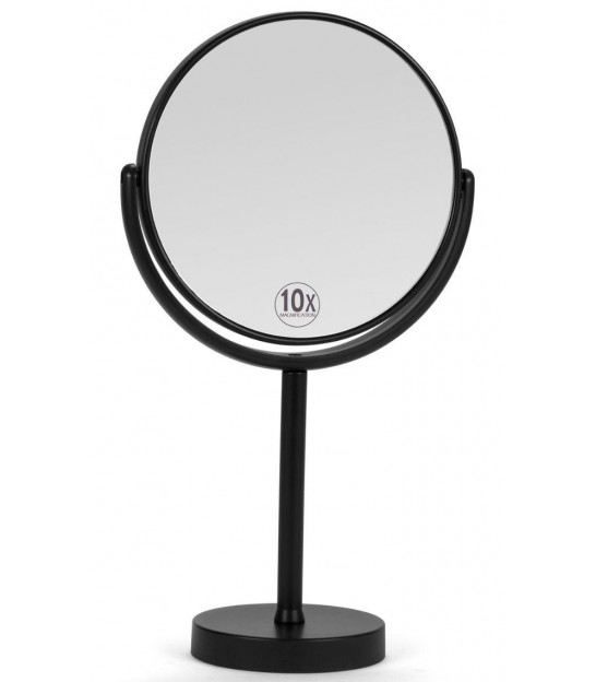 Magnifying Mirror x5 Double Face Gold