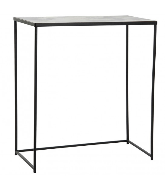 Console Table Golden Metal and Dark Green