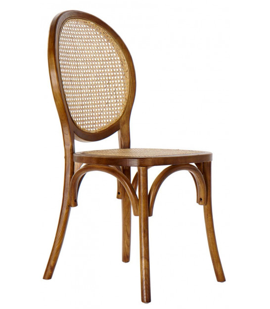 Golden Metal Chair with Cushion