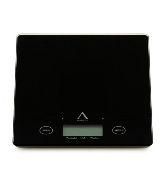 Kitchen Scale Metal Chrome and Black