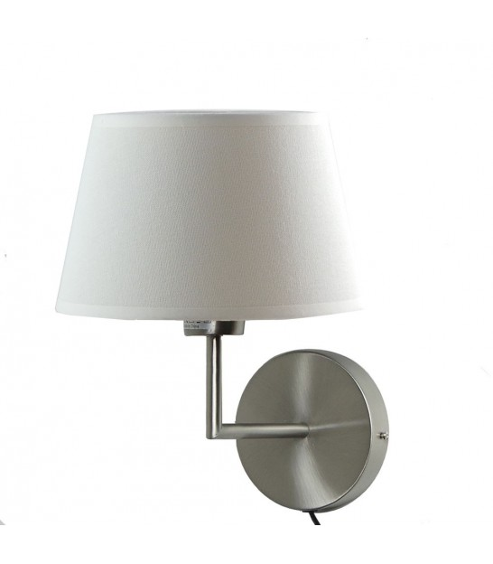 Grey Gooseneck Wall Lamp