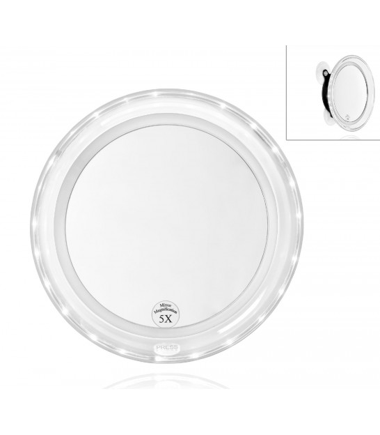 Miroir Rond Grossissant x5