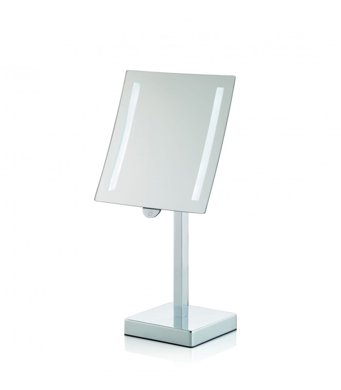 Miroir grossissant lumineux sur pied x3 for Miroir grossissant
