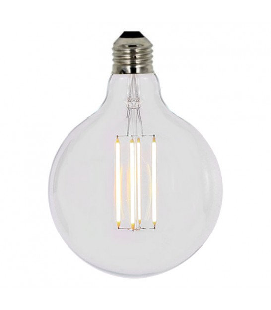 Ampoule Déco Design à Filaments Led E27 diam. 125mm
