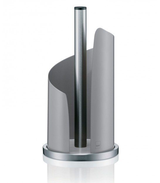 Standing Paper Roll Holder Chrome and White Stella