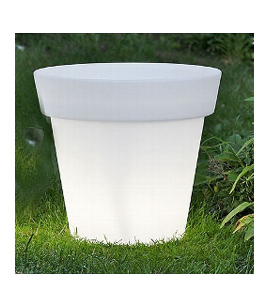 Pot Plante Lumineux Led Blanc
