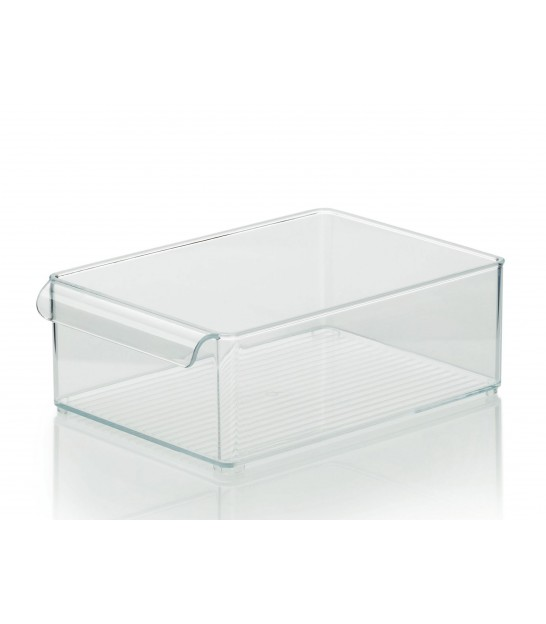 Kitchen storage box clear glass 3 floors for Placard de cuisine