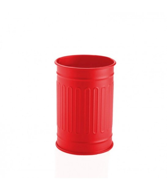 Red Toothbrush Holder