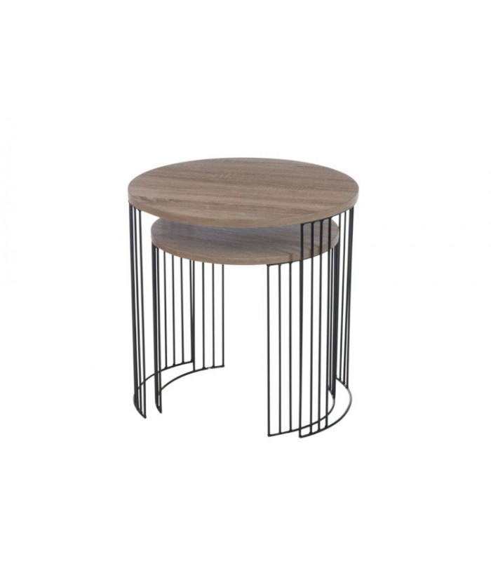 Wonderful ... Metal Nesting Tables. Set ...