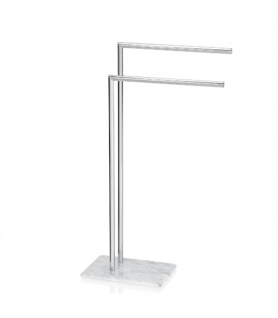 Towel Stand Inox and Marble