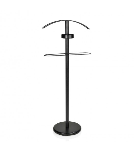 Valet Stand Chrome and White