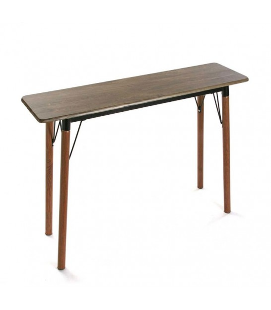 Console table Wood and Black Metal Dallas - Length 100cm - Wadiga.com