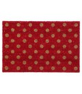 Dotted Red Doormat