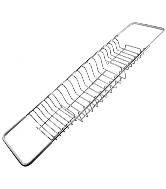 Chrome Extendable Bath Rack