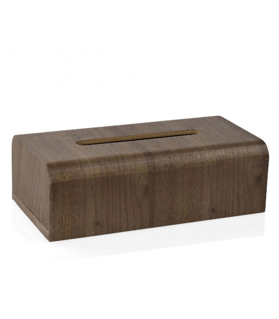 Wooden Wallnut Rectangular Tissue Box