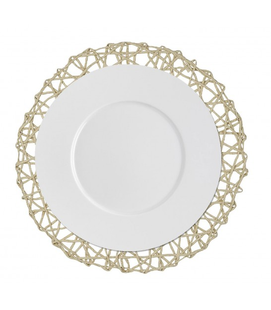 Set de Table Rond Beige - Diamètre 36cm