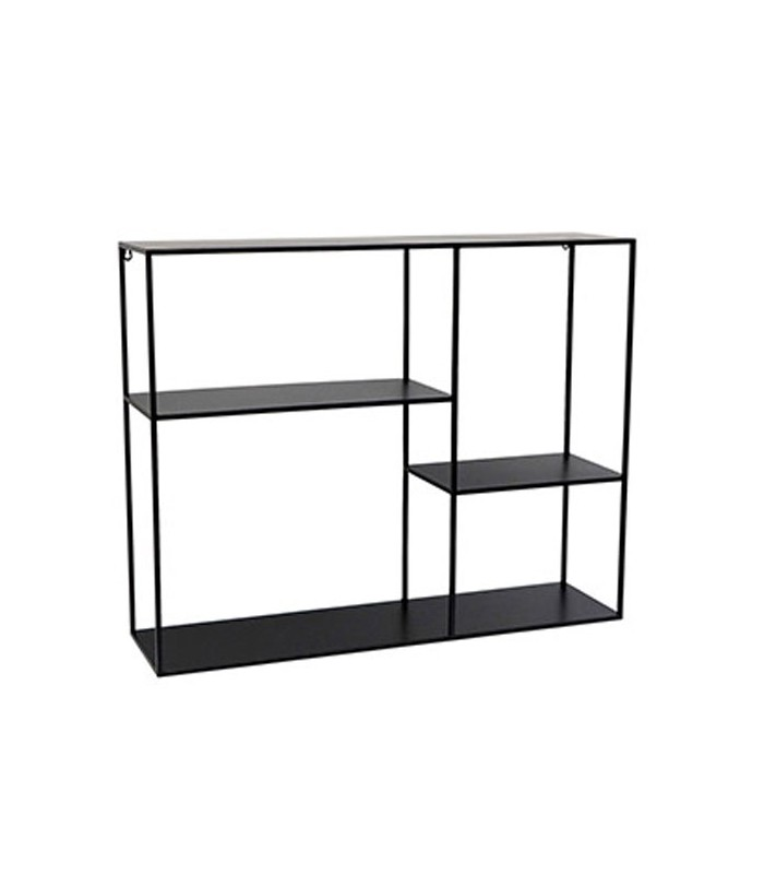 black metal wall shelf. Black Bedroom Furniture Sets. Home Design Ideas