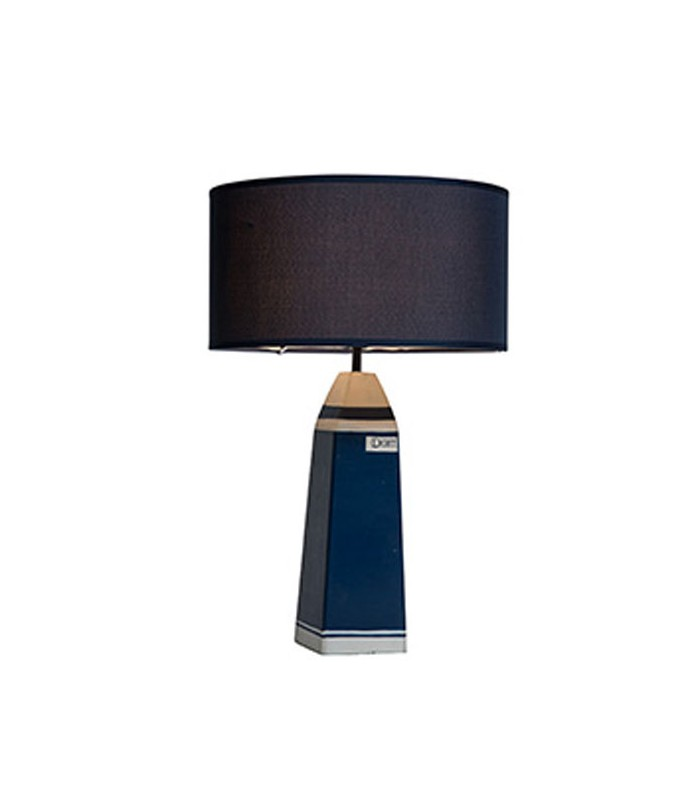 lampe poser bleu style marin. Black Bedroom Furniture Sets. Home Design Ideas
