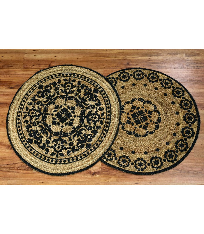 Set Of 2 Round Rugs
