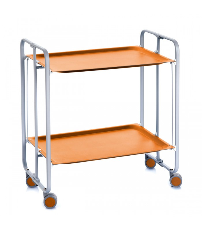 trolley cart orange
