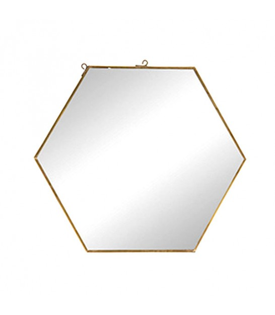 Hexagonal Mirror - 31cm