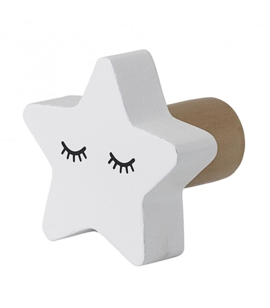 Hook White Star MDF for Kids