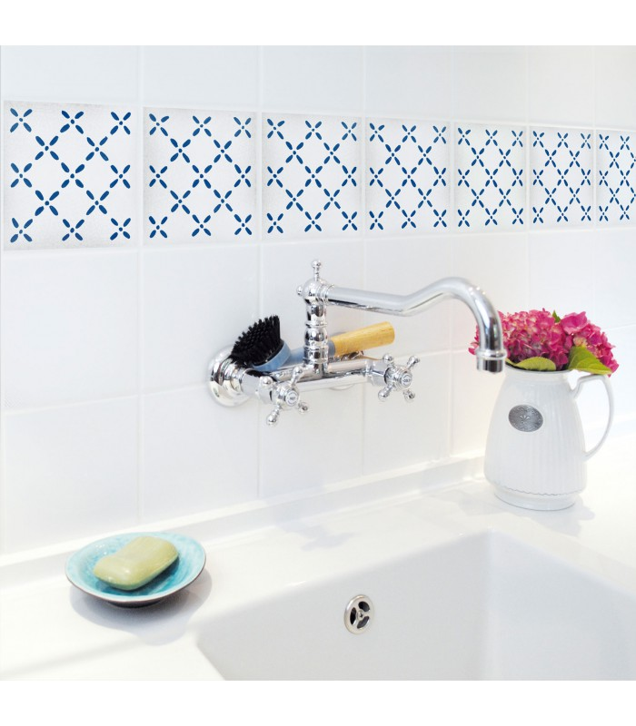Stickers For Bathroom Or Kitchen Tiles Terrazzo 02 Set Of 4