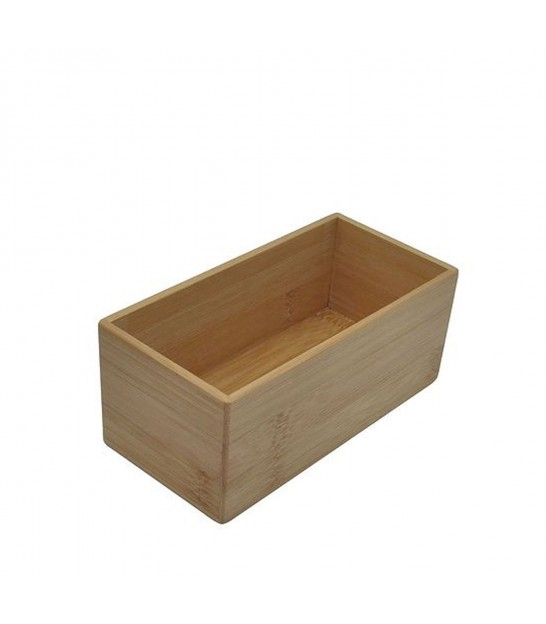 Bathroom Organizer Box Bambou - Length 15cm