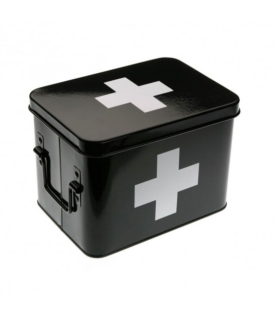 Black and White Cross Pharmacy Box