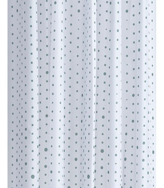 Dotted Shower Curtain Pink ↕200cm ↔180cm