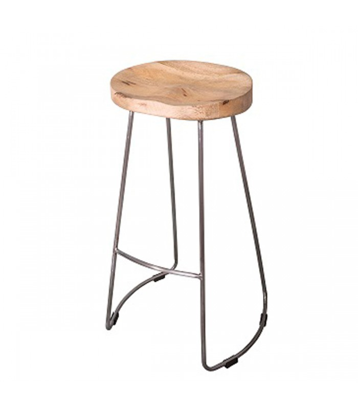 tabouret de bar design en bois et mtal - Tabouret Bar Design