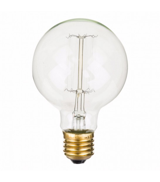 Ampoule Décorative Rétro Globe Edison Filaments Incandescents E27/40W