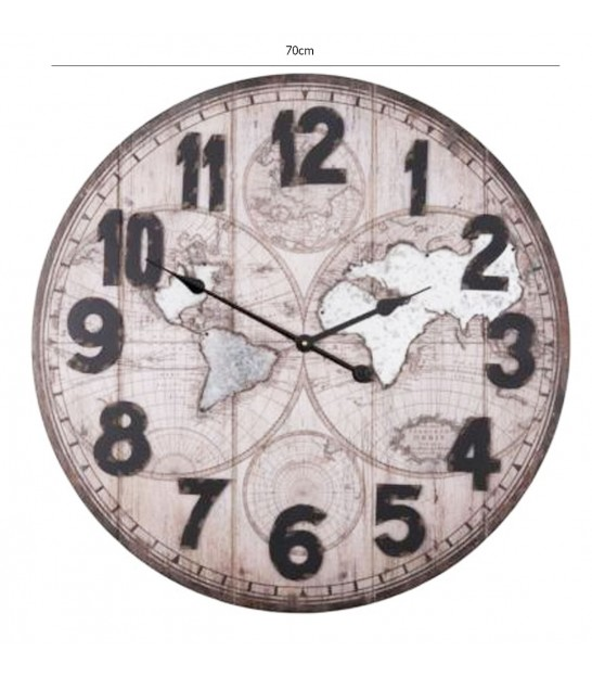 Grande horloge design perfect horloge cuisine design for Horloge murale design silencieuse