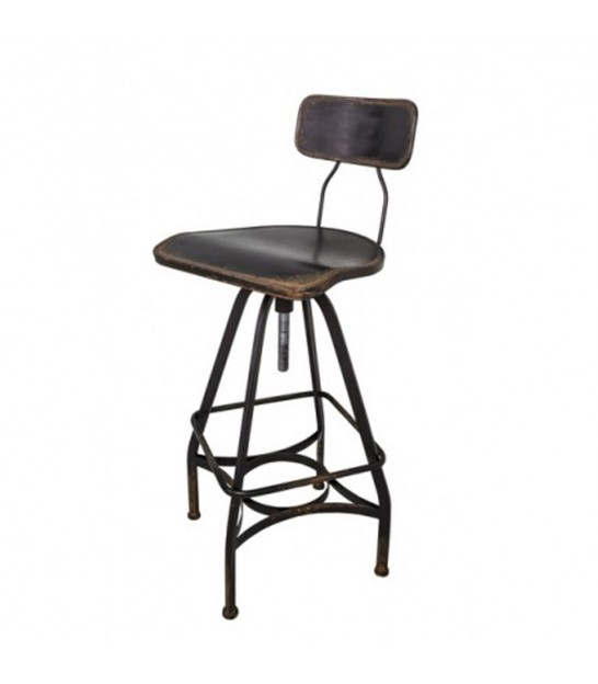 Bar Stool Wood and Metal