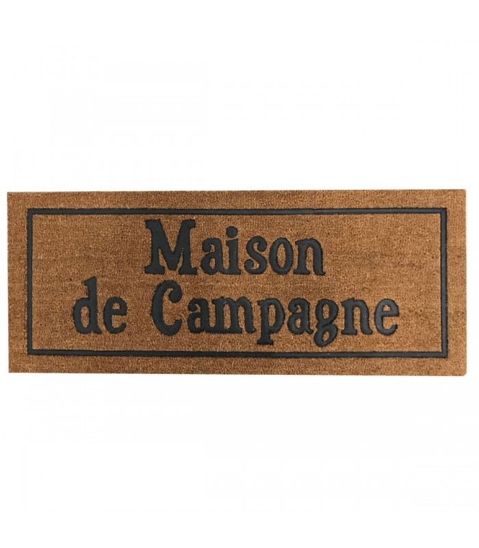 coco doormat maison de campagne. Black Bedroom Furniture Sets. Home Design Ideas
