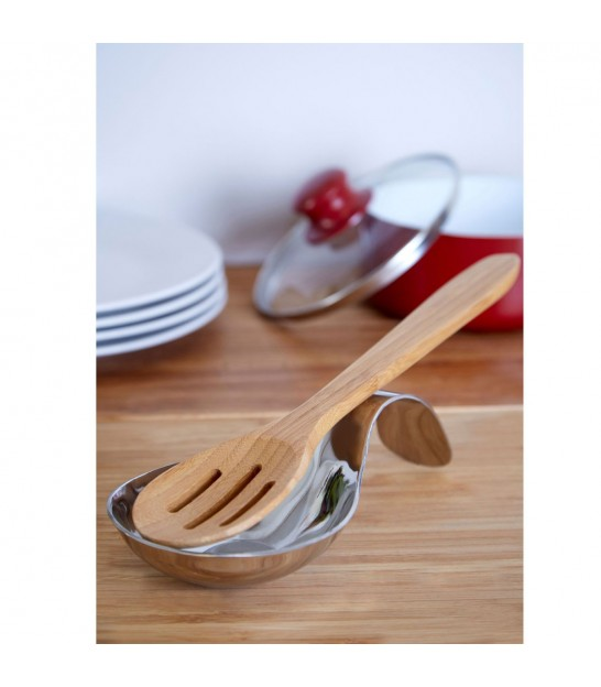 Spoon/Utensil Rest Polished Stainless Steel