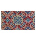 Muticolor Doormat Red and Blue
